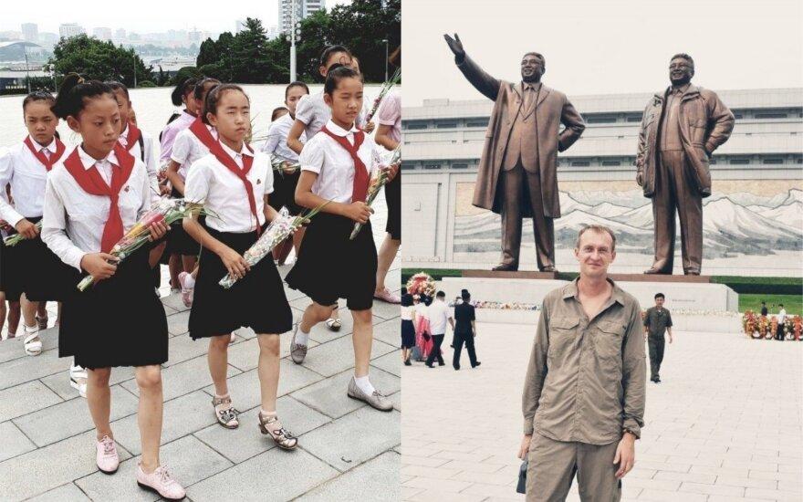 Šiaurės Korėjos muziejuje rado dovaną nuo Lietuvos: tai buvo labiau pasišaipymas ir gėda