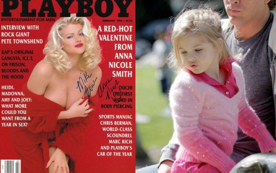 Anna Nicole Smith ir jos dukra Dannielynn