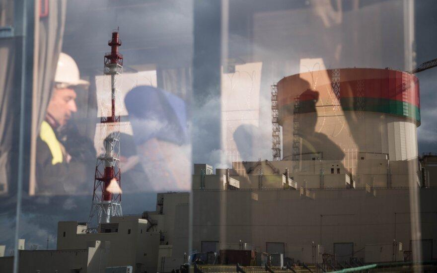 Branduolinis kuras pakrautas į Astravo AE pirmąjį reaktorių