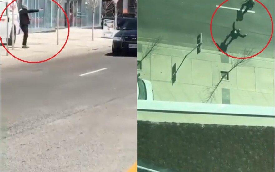 """""""Policininkas, kuris neiššovė"""": po išpuolio Toronte – kalbos apie siaubingą akistatą"""