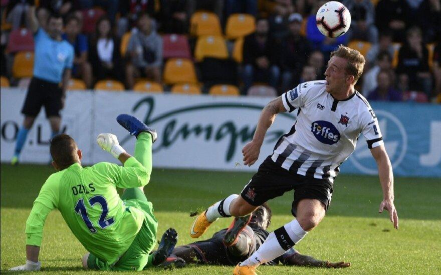 UEFA Čempionų lygos atranka: 210 min. be įvarčių atžaidęs Rygos klubas krito baudinių serijoje