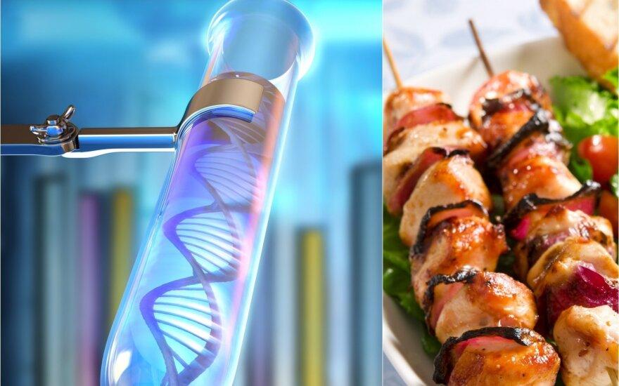 Genetika ir mityba