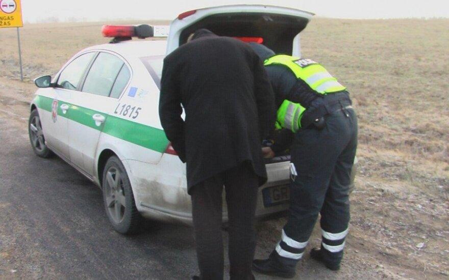 Policijos reidas Žemaitijoje