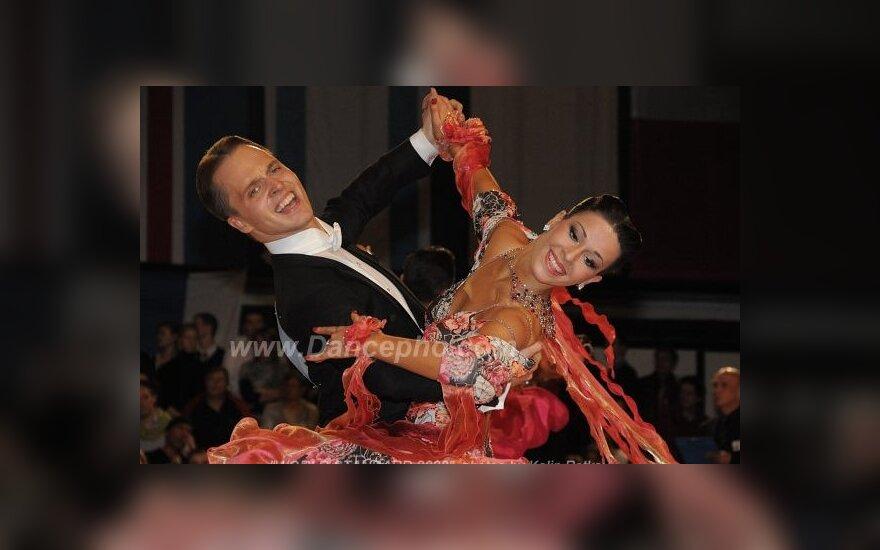 Vaidotas Lacitis ir Veronika Golodneva