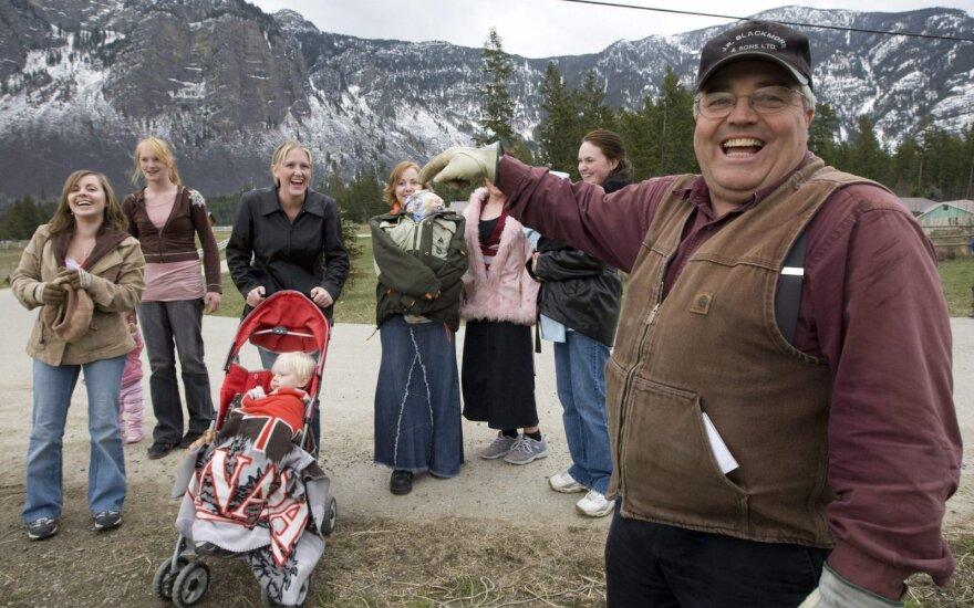 Neįtikėtina: kanadietis turi 24 žmonas ir 149 vaikus
