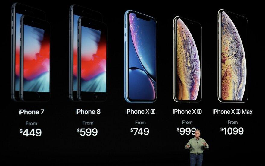 """Labiausiai lauktas renginys: """"Apple"""" pristatė savo didžiausią telefoną"""