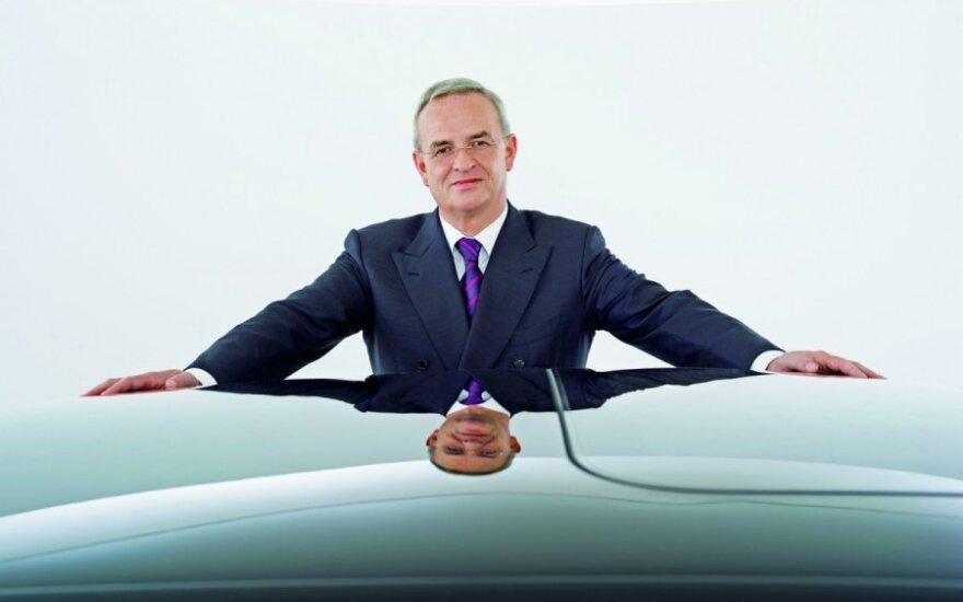 """Volkswagen AG"""" vadovas Martinas Winterkornas"""
