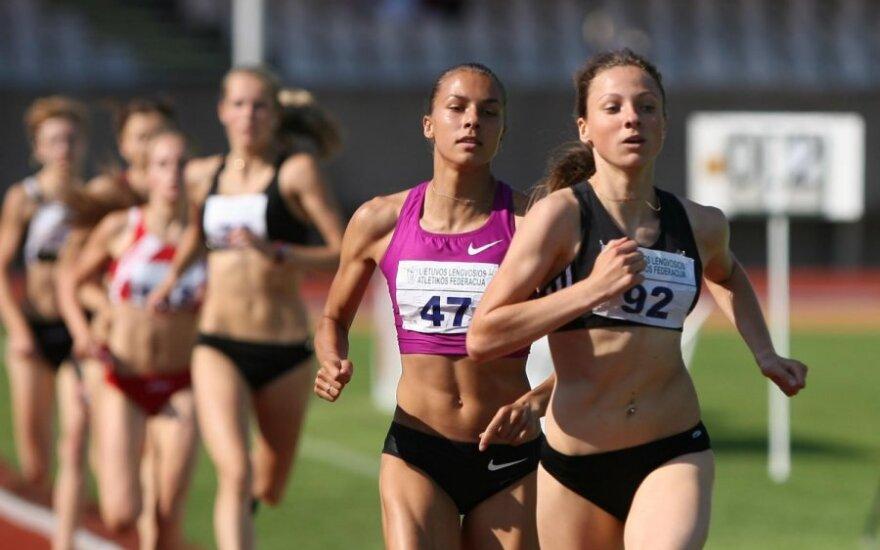 Bėgikė N.Piliušina - NCAA vicečempionė