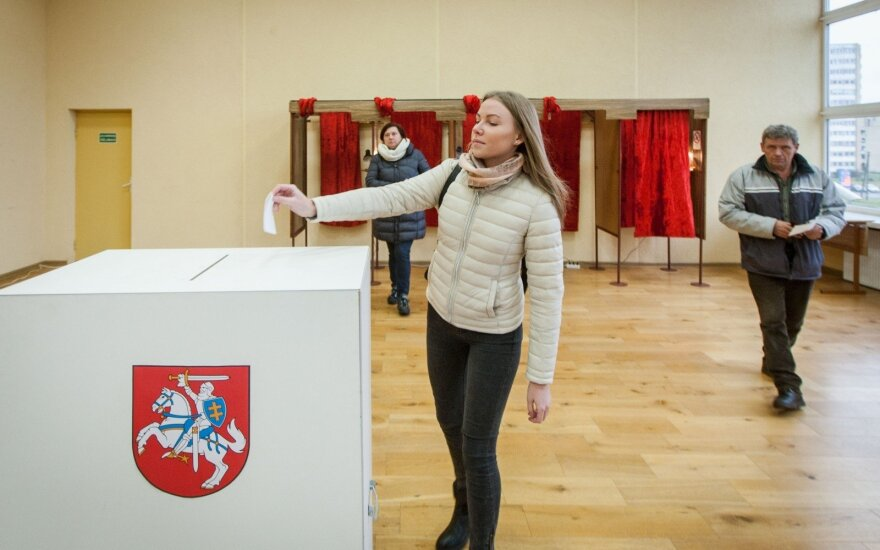 Voting in the Naujoji Vilnia