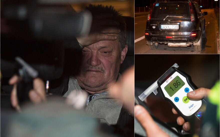 Reidas Vilniuje: keturias dienas gėręs vyriškis norėjo tik grįžti namo