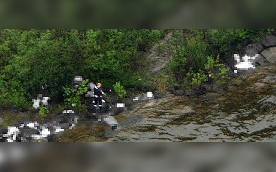 Skerdynės Utioja saloje Norvegijoje