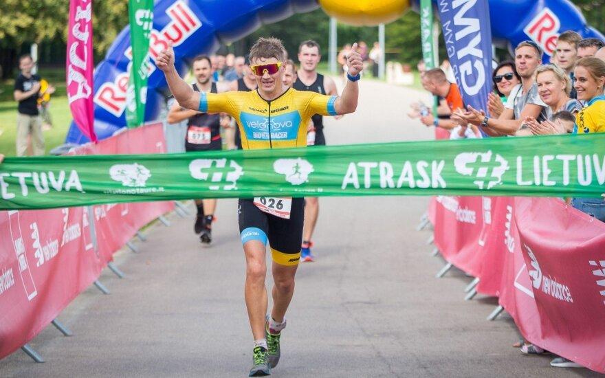 Lietuvos triatlono taurės finišas Druskininkuose