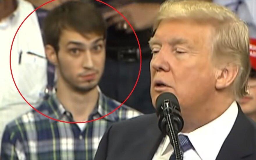Tyleris Linfesty, Donaldas Trumpas