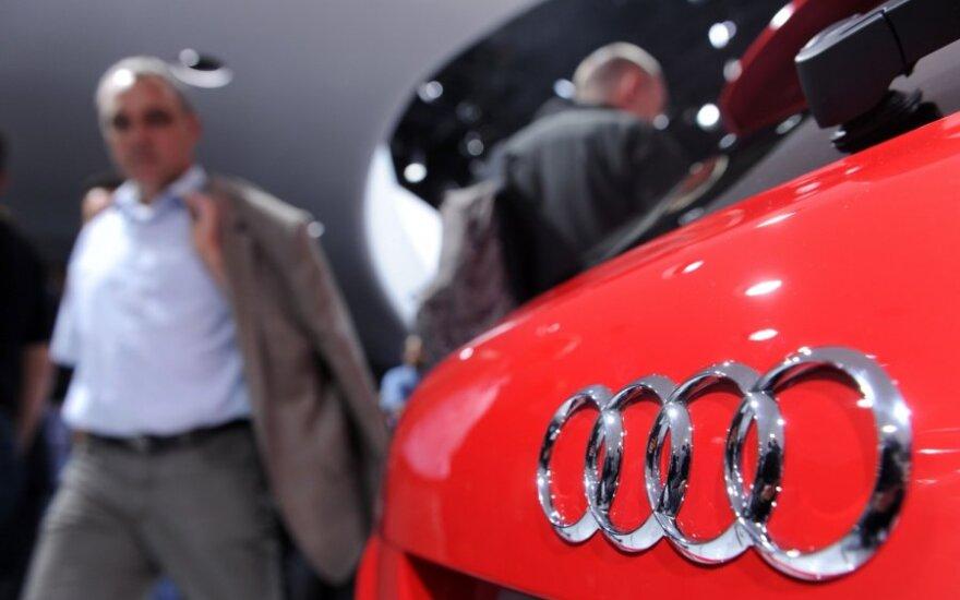 """Audi"" ir ""Volkswagen"" fiksuoja rekordinius pardavimus"