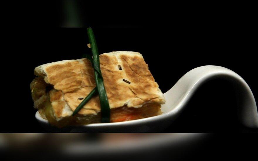 """Vieno kąsnio sumuštinis """"Quesadilla"""""""