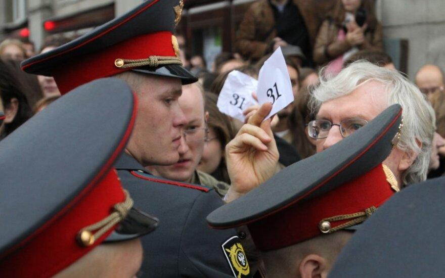 Maskva davė leidimą daugiatūkstantinei demonstracijai