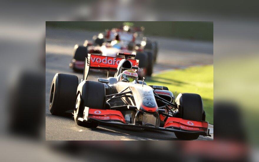 """McLaren"" teks stoti prieš FIA teismą"