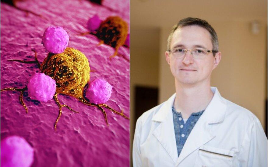 Profesorius Tomas Poškus patarė, kaip sumažinti riziką susirgti vėžiu