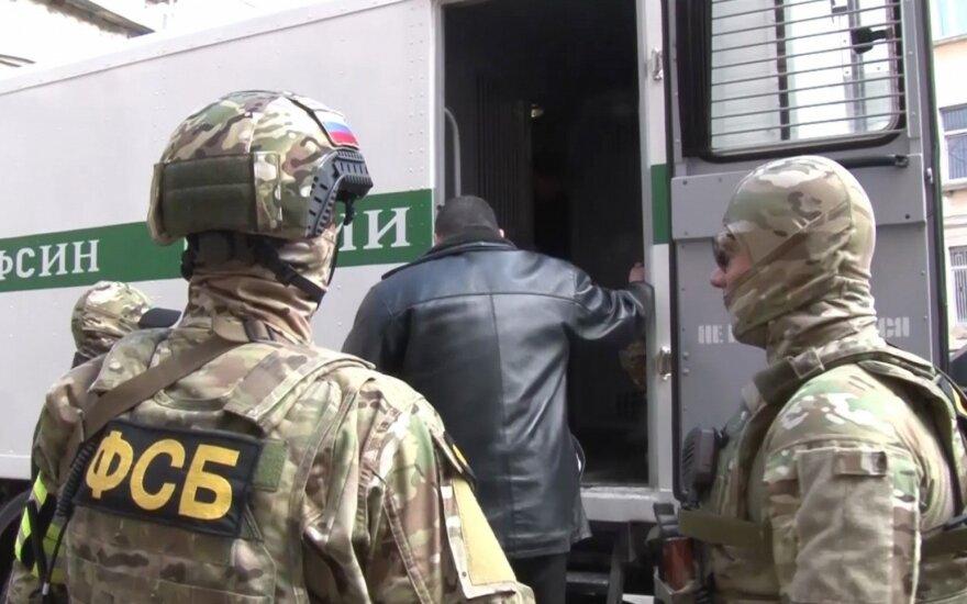"""Rusijos aneksuotame Kryme suimti 23 numanomi islamistų judėjimo """"Hizb ut Tahrir"""" nariai"""