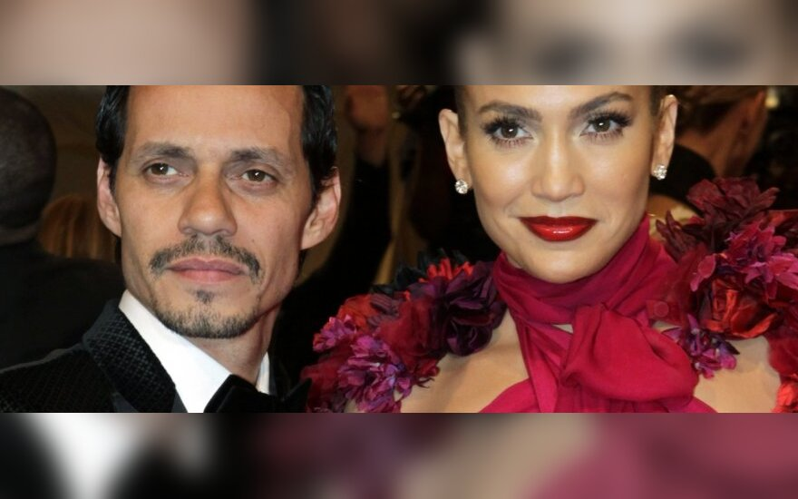 Marcas Anthony ir Jennifer Lopez