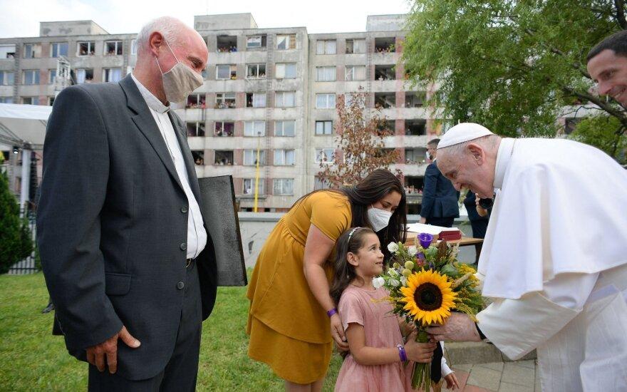 Popiežius Slovakijoje