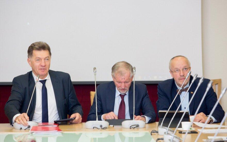 Algirdas Butkevičius, Gediminas Kirkilas, Juozas Olekas