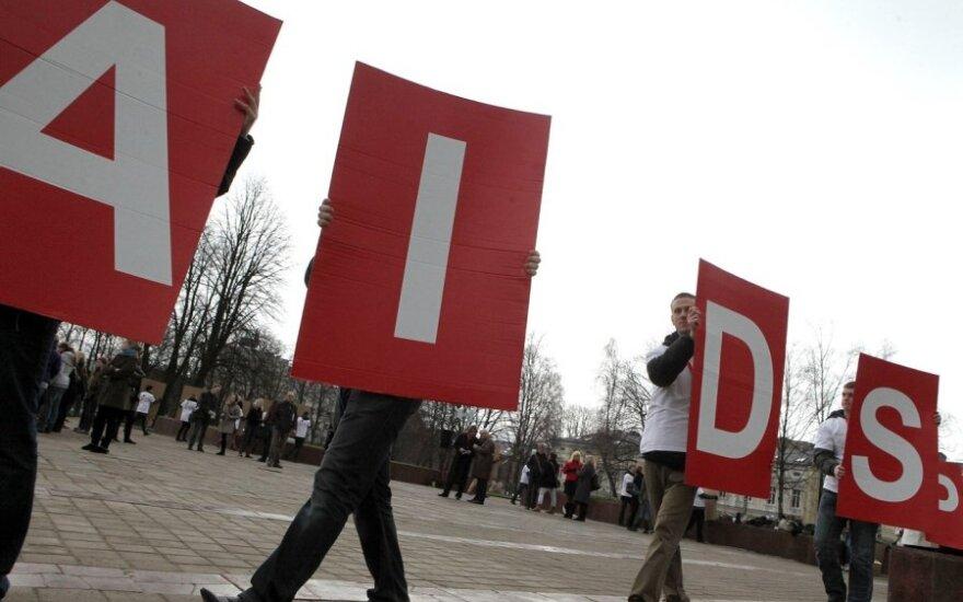 Flashmobas AIDS dienai Klaipėdoje