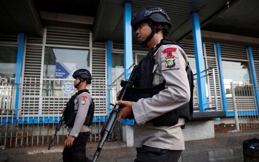 Artėjant Azijos žaidynėms Indonezijos policija nukovė 11 įtariamų nusikaltėlių
