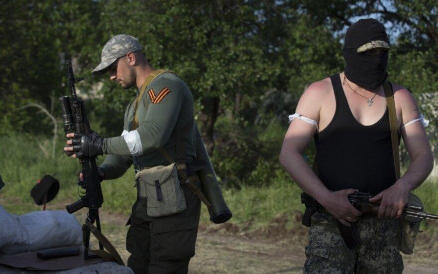 JT: separatistai Rytų Ukrainoje tikslingai žudo, kankina ir grobia