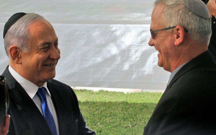 Benjaminas Netanyahu, Benny Gantzas