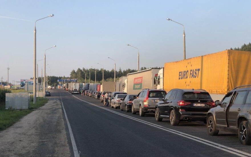 Очереди на белорусско-литовской границе