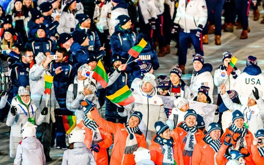 Pjongčango olimpinių žaidynių uždarymas