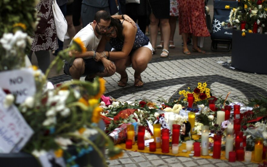 Ispanija mini pirmąsias 16 gyvybių nusinešusių džihadistų atakų metines