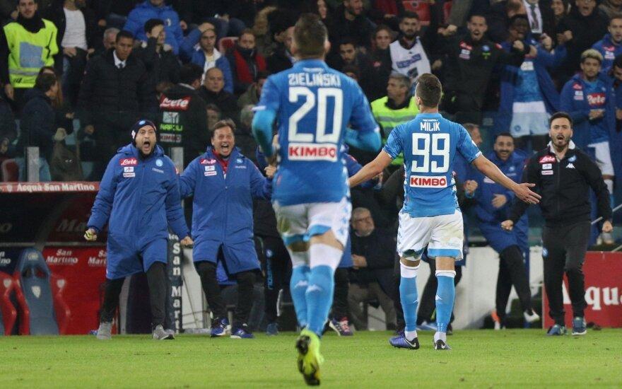 Napoli klubo pergalė