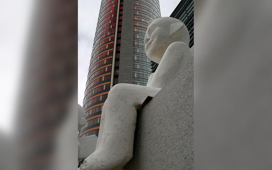 "Dangoraižį Vilniuje ""saugo"" angelas"