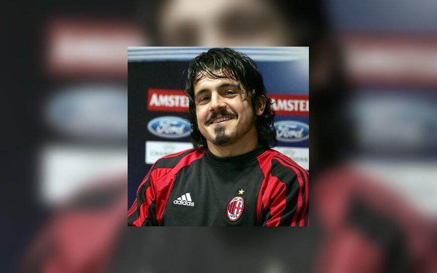 """Gennaro Gattuso (""""AC Milan"""")"""