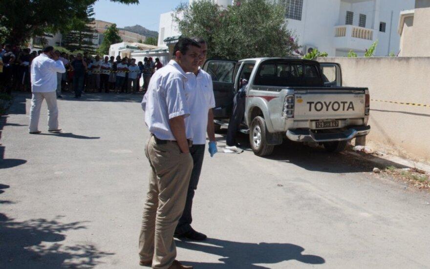 Nušautas Tuniso opozicijos veikėjas Mohammedas Brahmi
