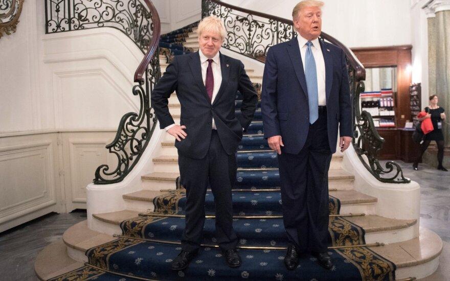 Borisas Johnsonas, Donaldas Trumpas
