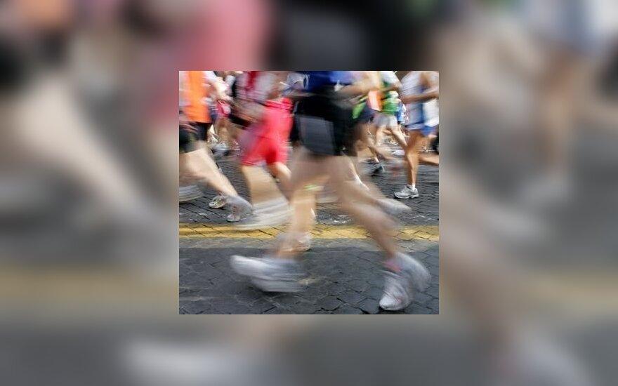 Tarptautinį bėgimą Druskininkuose laimėjo M.Diliūnas ir R.Kergytė
