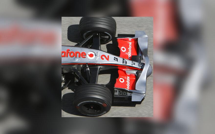 """""""McLaren"""" bolido priekinis sparnas"""