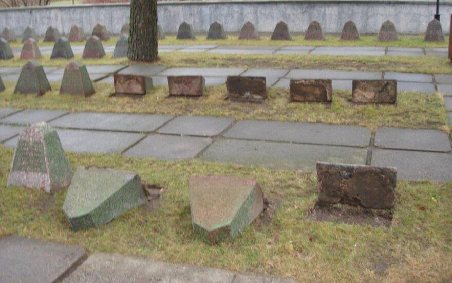 Panevėžyje išniekintos sovietinių kareivių kapinės