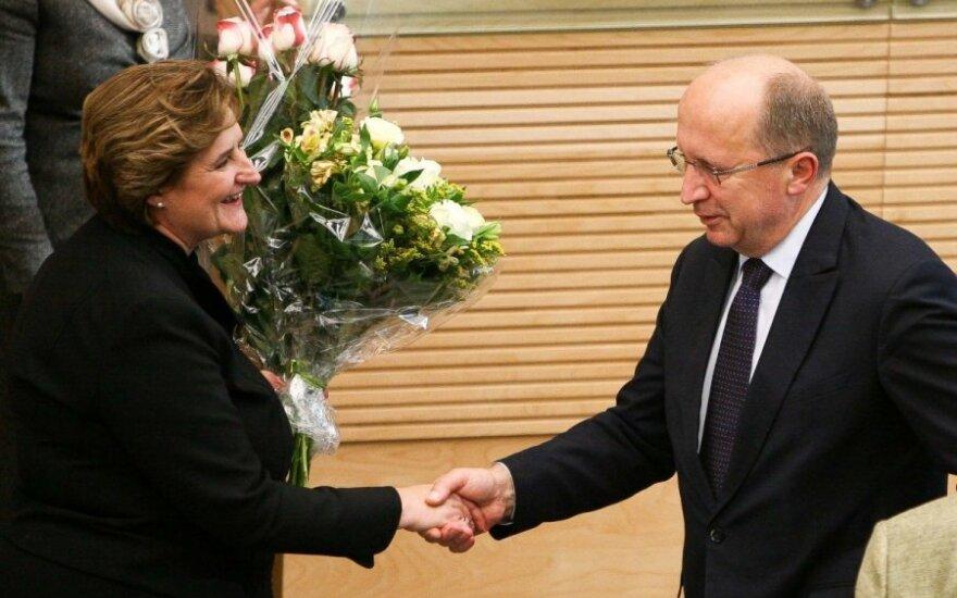 Loreta Graužinienė, Andrius Kubilius