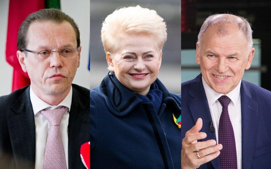 Algirdas Šemeta, Dalia Grybauskaitė, Vytenis Andriukaitis