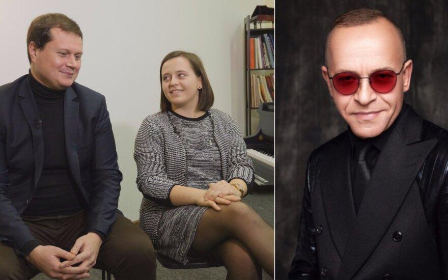 Konstancija ir Remigijus Sabaliauskai, Kastytis Kerbedis /Foto: LRT ir K. Jautakis
