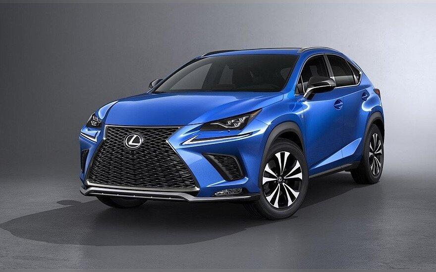 """Modernizuotas """"Lexus NX"""""""