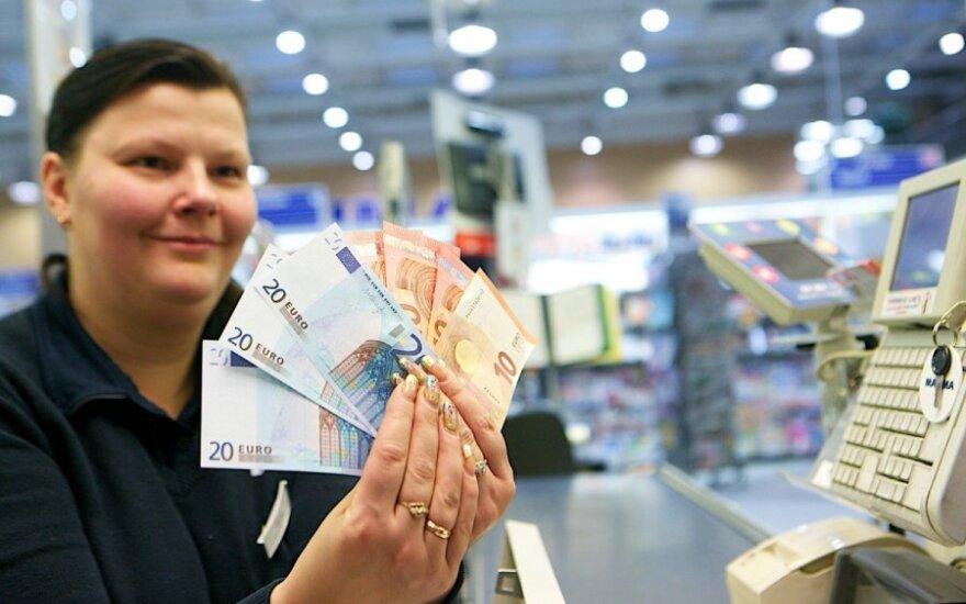 Išaugo euro gerbėjų gretos