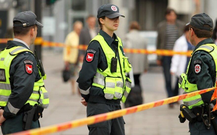 Pranešta apie bombą Kauno teisme