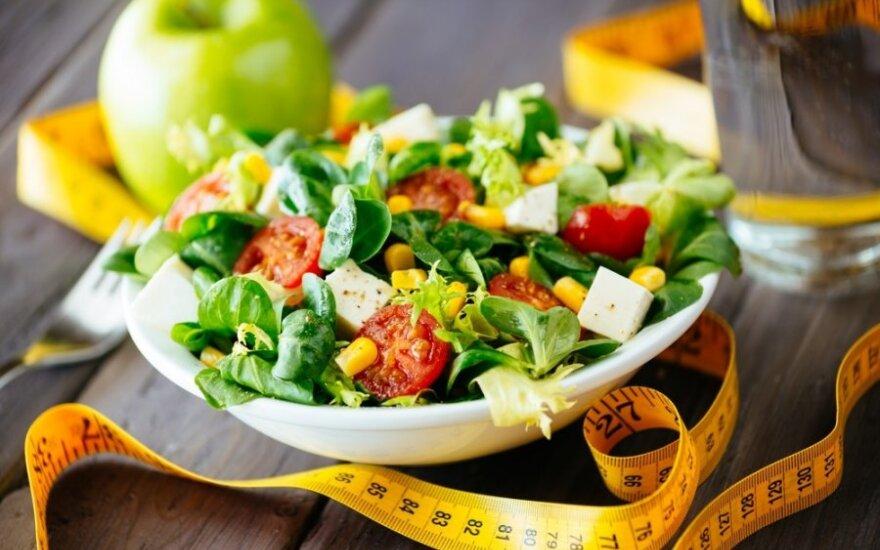 Kaip numesti svorio, bet maitintis sveikai ir skaniai