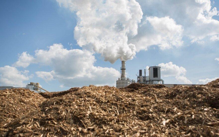Kazlų Rūdoje veikianti biokuro katilinė