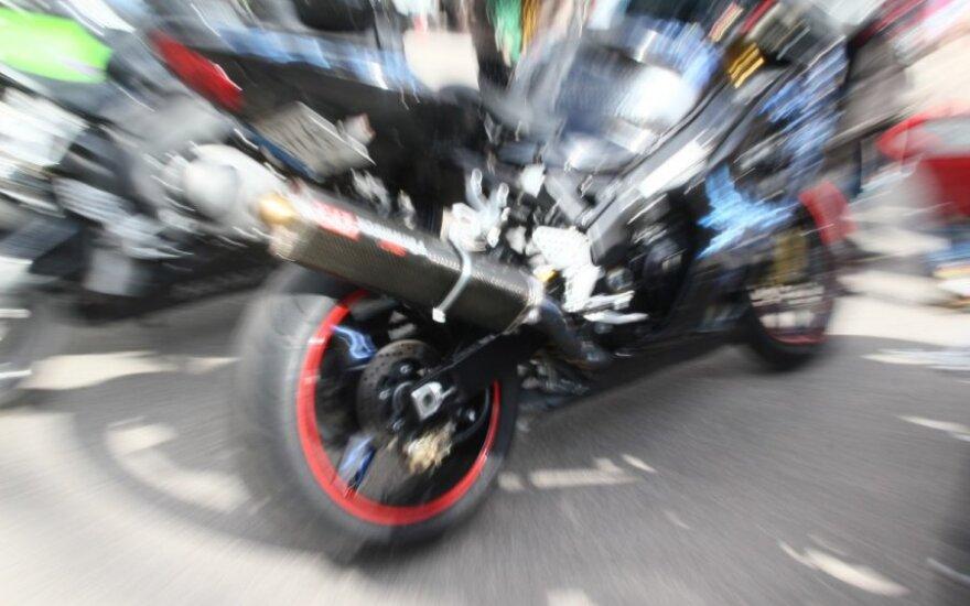 Nemuno žiede atidaromas motociklų lenktynių sezonas